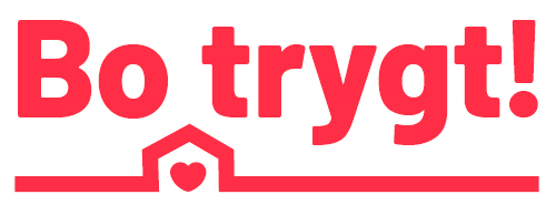 Bo trygt! logo